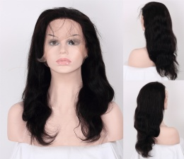 Clearance full lace wig 16 1B natural wave $85 only!