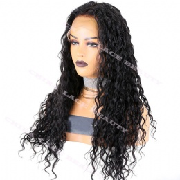 Full Lace Wig Brazilian Virgin Hair 16mm Curl