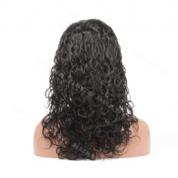 Lace Front Wig Indian Remy 16inches 25mm curl