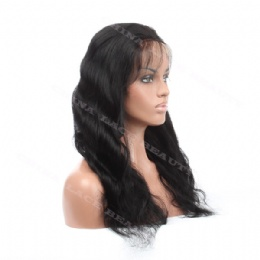 Lace Front Wig Indian Remy 18inches body wave