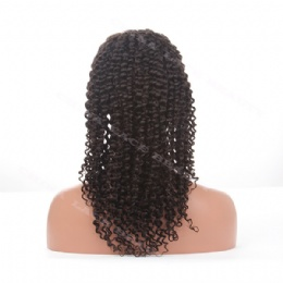 Lace Front Wig Indian Remy 18inches deep curl