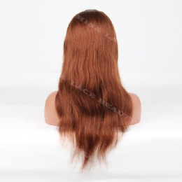 Lace Front Wig Indian Remy 18inches natural straight