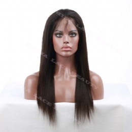 Silk base top wigs 18inches straight