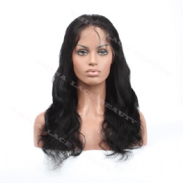 Silk base top wigs 18inches body wave