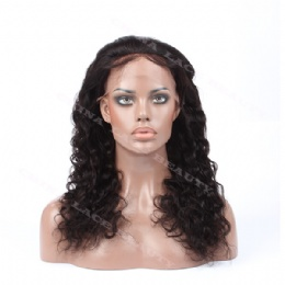 Silk base top wigs 18inches deep body wave